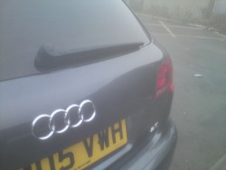 Audi a3 tailgate after small_40651