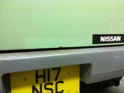 Nissan S-Cargo Tailgate, before small_22273