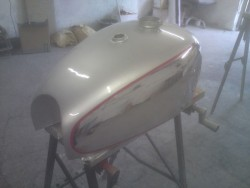 BSA Fuel Tank Restoration - image 8