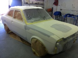 ford escort mk1 masked and primed