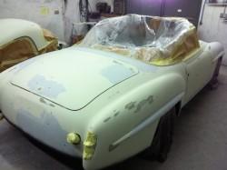 1950's Mercedes 190SL Restoration - image 4