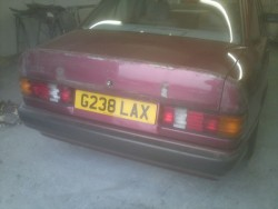 Mercedes 190E Repair, Restoration & Respray Restoration - image 16