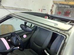 smart car, sunroof and screen out small_88231
