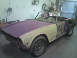 Triumph TR6 Restoration - image 8