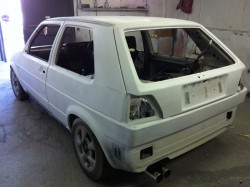 vw golf mk2 repaint, before small_38393