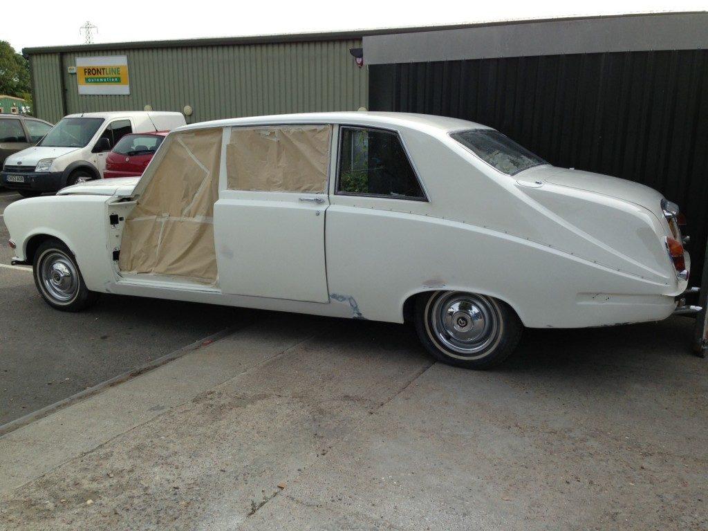 Daimler DS Limousine Restoration - image 20