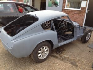 Triumph GT6 just resprayed