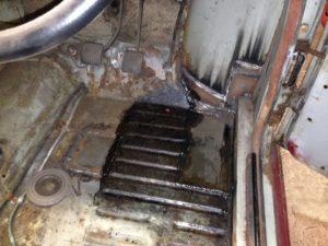 isetta rotten / rusty door