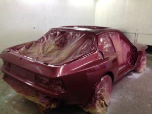 Isetta bubble car rear angle