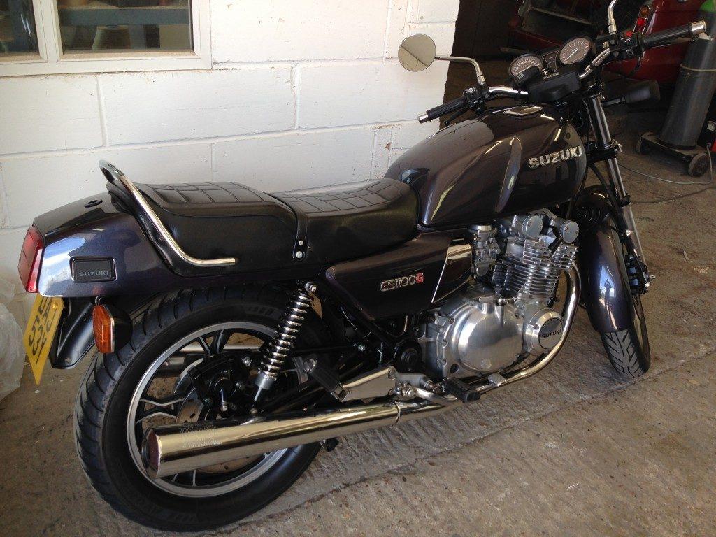 Suzuki GS1100G Restoration - image 4
