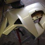 2013 Triumph Sprint GT 1050 Pannier Respray Restoration - image 5
