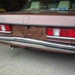 Mercedes 280 CE – Rear End Damage Restoration - image 4