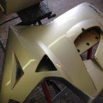 2013 Triumph Sprint GT 1050 Pannier Respray Restoration - image 2