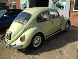 1967 VW Beetle, ready for repairs