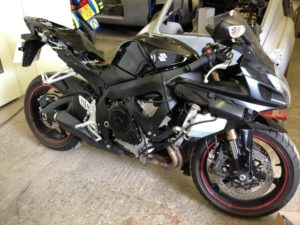 Suzuki gsxr 600 before