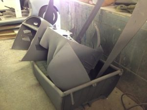 Messerschmitt-respray-Sandblasted and primed