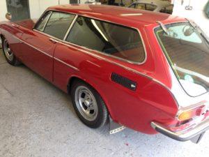 Volvo 1800 ES - rust removal