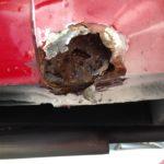 Volvo 1800 ES Rust Removal Restoration - image 62