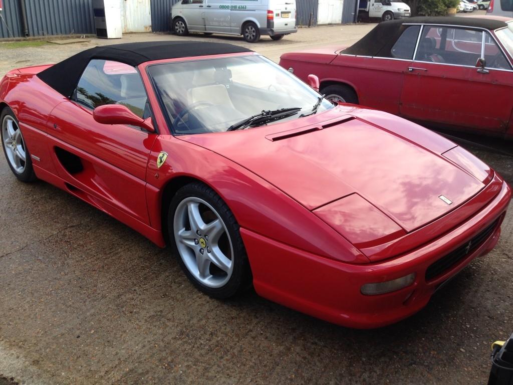 Ferrari 355 Spider Restoration - image 56