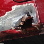 Volvo 1800 ES Rust Removal Restoration - image 61