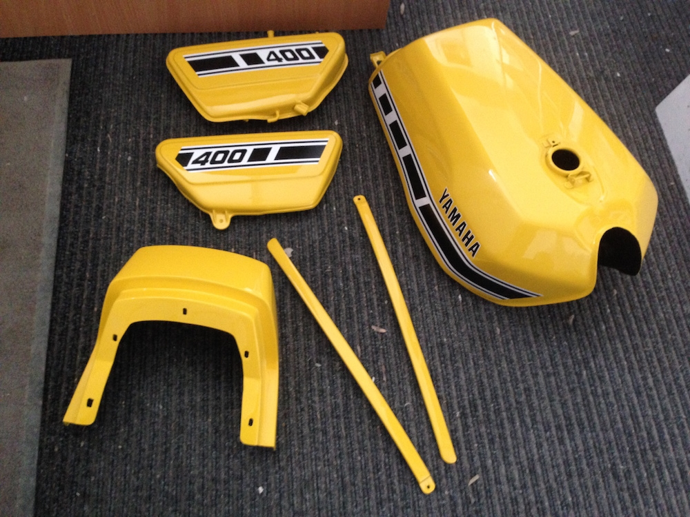 Yamaha RD400 Restoration - image 12