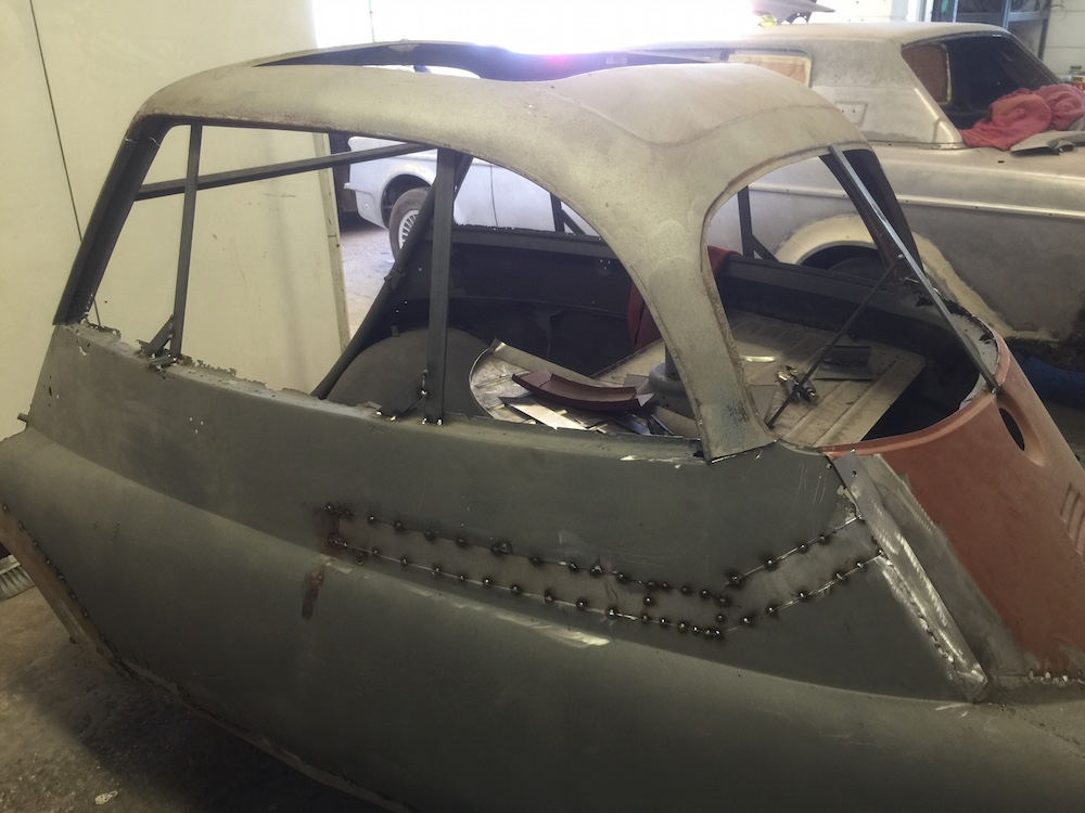 Isetta Bubble Car – Huge Restoration Job Restoration - image 240