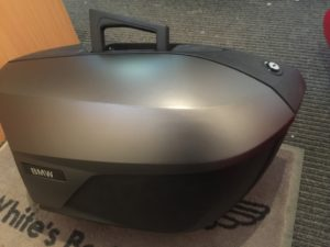 Bmw Motorcyle pannier - after respray