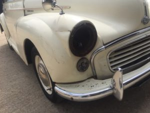 Morris Minor 1000 - restoration 1