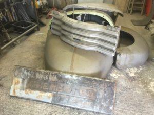1952 Chevy truck repair