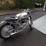 Motorcycle transport in Kent