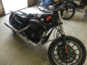 Harley Davidson respray 2