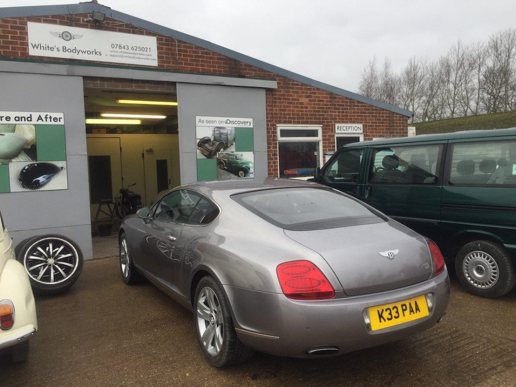 David Stockdale's Bentley Continental Restoration - image 4