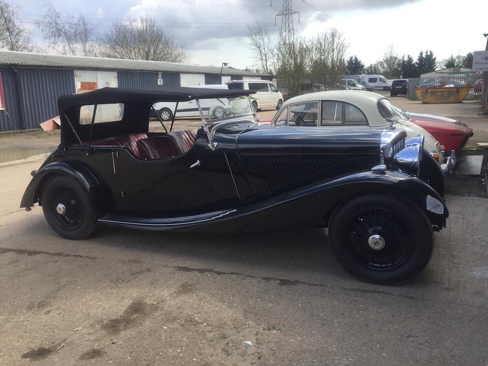 1934 VDP Derby Bentley Restoration - image 1