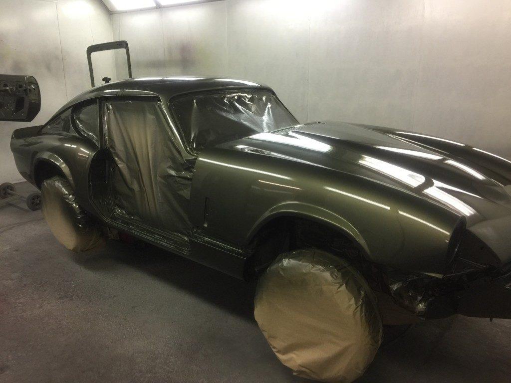 Triumph GT6 Respray Restoration - image 8