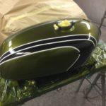 Honda CB 350 fuel tank respray Restoration - image 7