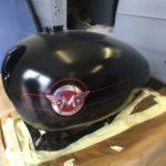 Matchless G5 Petrol Tank Respray. Restoration - image 4