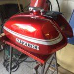 Suzuki GT750 Fuel tank respray Restoration - image 8