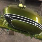 Honda CB 350 fuel tank respray Restoration - image 8