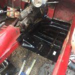 Triumph Spitfire floor restoration Restoration - image 32