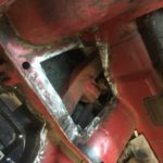 Triumph Spitfire floor restoration Restoration - image 36
