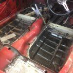 Triumph Spitfire floor restoration Restoration - image 39