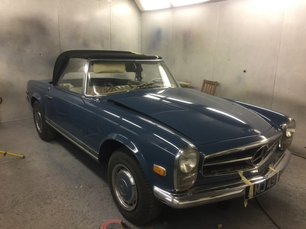 1967 Mercedes SL280 Respray. Restoration - image 4