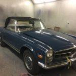 1967 Mercedes SL280 Respray. Restoration - image 4
