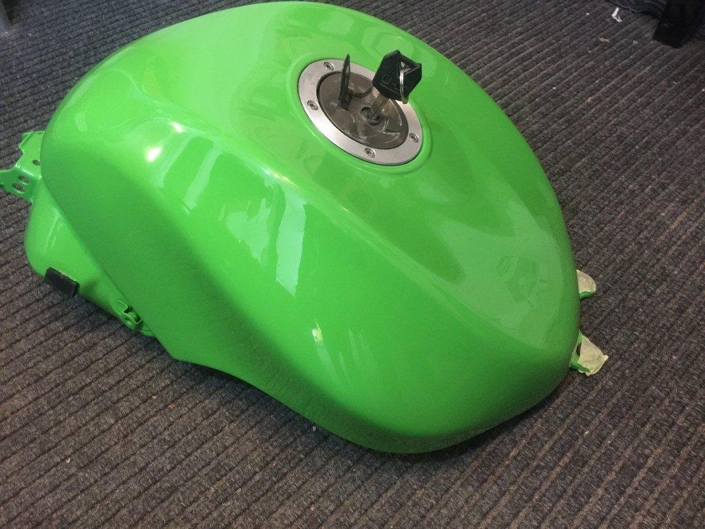 Kawasaki fuel tank repair Restoration - image 20
