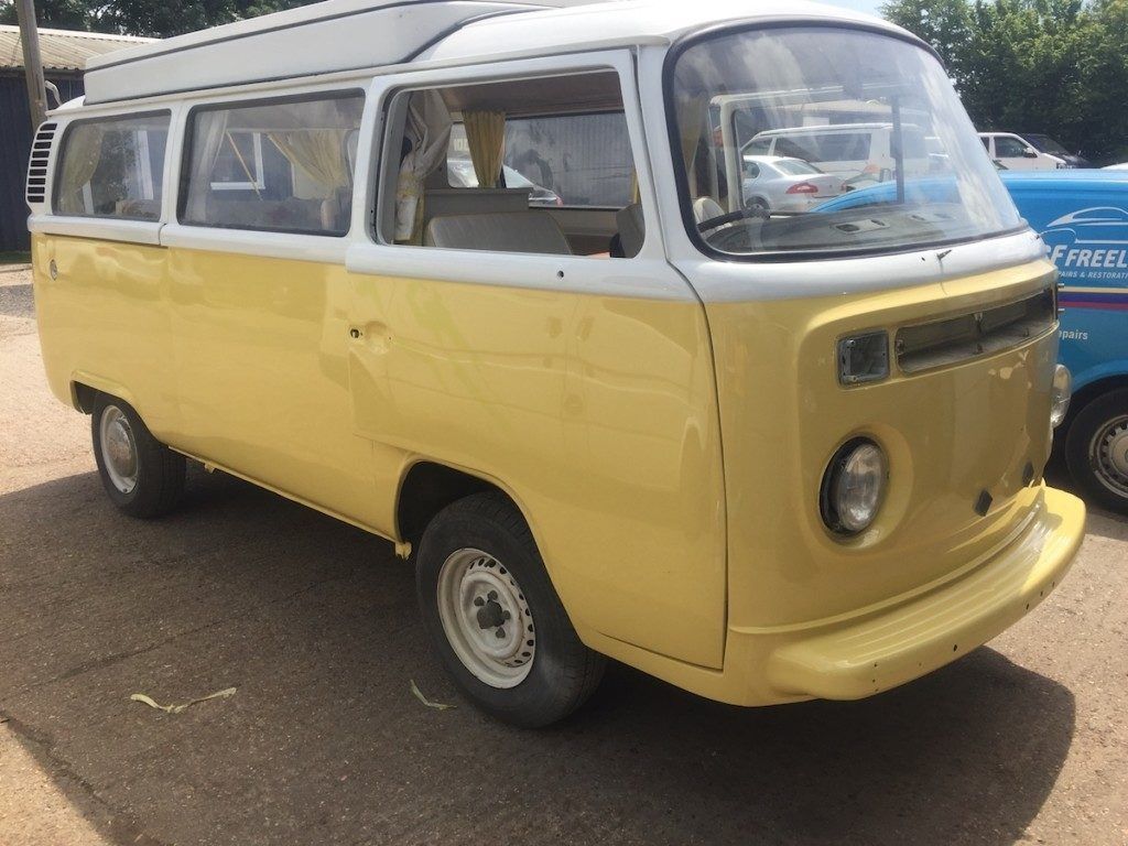 VW Camper van Respray Restoration - image 44