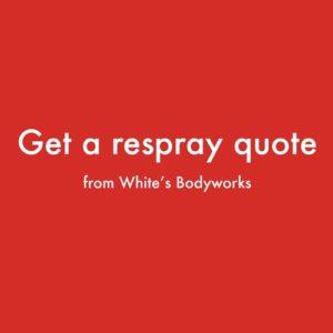 car respray quote