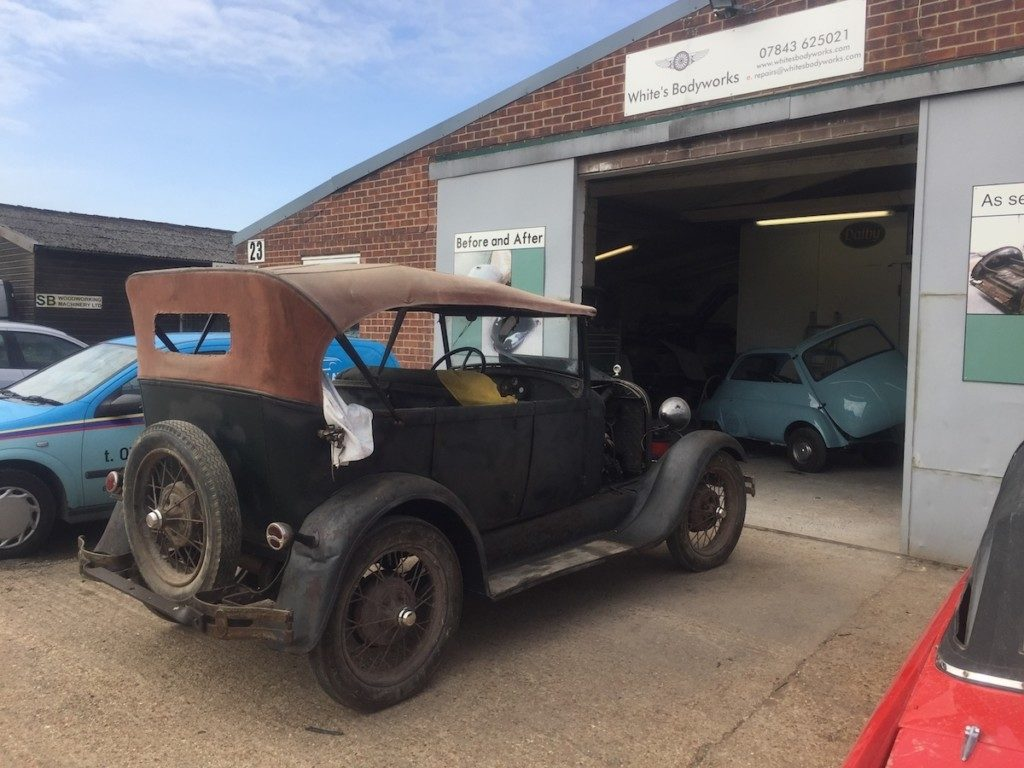 Ford model A – Mechanical work in progress Restoration - image 4