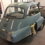Isetta bubble car respray in progress Restoration - image 37
