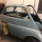 Isetta bubble car respray in progress Restoration - image 38