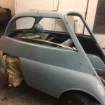 Isetta bubble car respray in progress Restoration - image 38